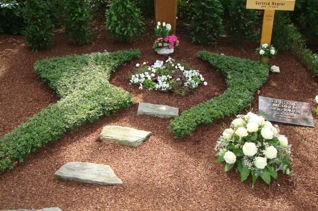 Grabpflege von Blumen-Fragen